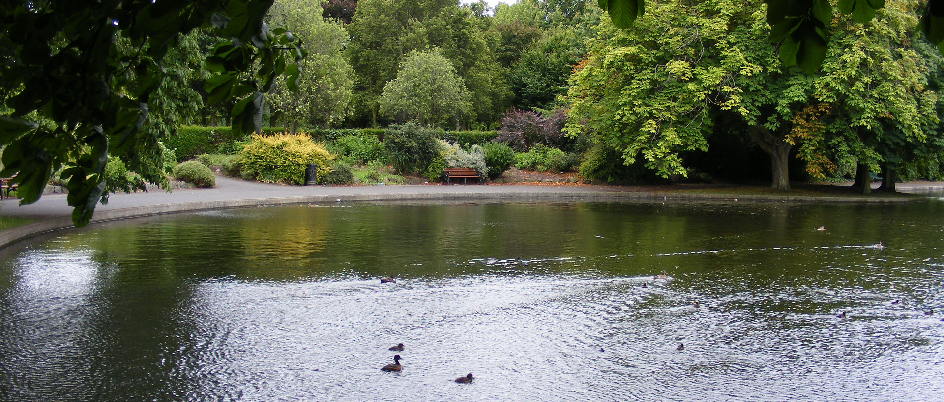 Herbert Park in Ballsbridge Dublin 4