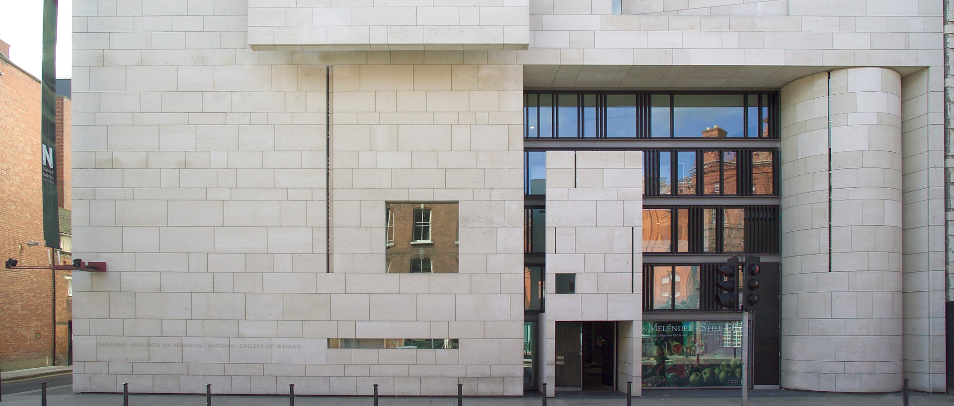 The exterior of the  National Gallery of Ireland